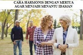 CARA HARMONIS DENGAN MERTUA