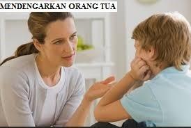 Mendengarkan Orang Tua